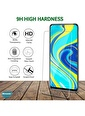 Microsonic Xiaomi Poco X3 NFC Tempered Glass Cam Ekran Koruyucu Renksiz